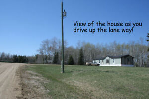 140 Acres with 2013 house - REDUCED