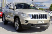 2011 Jeep Grand Cherokee WK MY2011 Limited Gold 5 Speed Sports Automatic Wagon Hillcrest Logan Area Preview