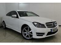 2013 13 MERCEDES-BENZ C CLASS 2.1 C250 CDI BLUEEFFICIENCY AMG SPORT 2DR AUTOMATI