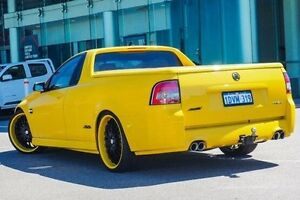 2011 Holden Commodore VE II SS-V Redline Edition Yellow 6 Speed Manual Utility Wangara Wanneroo Area Preview