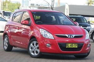 2011 Hyundai i20 PB MY11 Elite Red 5 Speed Manual Hatchback Zetland Inner Sydney Preview