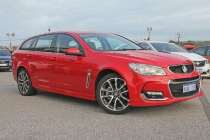 2016 Holden Commodore VF II MY16 SS V Sportwagon Red 6 Speed Sports Automatic Wagon
