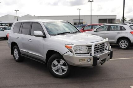 2013 Toyota Landcruiser VDJ200R MY12 Sahara Silver 6 Speed Sports Automatic Wagon Devonport Devonport Area Preview