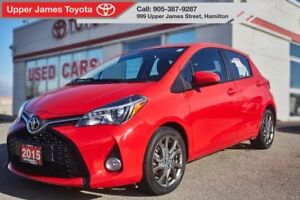 2015 Toyota Yaris SE - Loaded with fancy features!