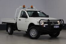 2011 Mitsubishi Triton MN MY11 GLX White 4 Speed Automatic Utility Bentley Canning Area Preview
