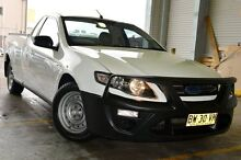 2013 Ford Falcon FG MkII Ute Super Cab White 6 Speed Sports Automatic Utility Pearce Woden Valley Preview