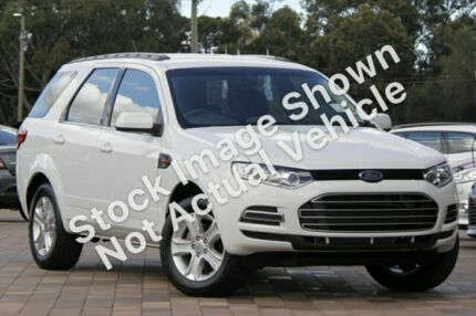 2012 Ford Territory SZ TX Seq Sport Shift White 6 Speed Sports Automatic Wagon St Marys Mitcham Area Preview