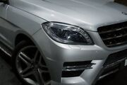 2013 Mercedes-Benz ML350 W166 BlueTEC 7G-Tronic + Silver 7 Speed Sports Automatic Wagon Rozelle Leichhardt Area Preview