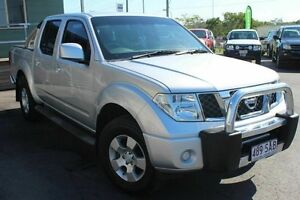 2011 Nissan Navara D40 MY11 ST Silver 6 Speed Manual Utility Wakerley Brisbane South East Preview