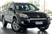 2011 Toyota RAV4 ACA38R MY11 Altitude 4x2 Black 5 Speed Automatic Wagon Ringwood East Maroondah Area Preview