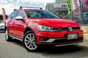 2017 Volkswagen Golf AU MY17 Alltrack 132 TSI Red 6 Speed Direct Shift Wagon