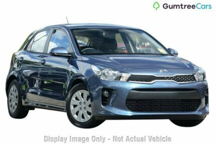 2017 Kia Rio YB MY17 S Blue 4 Speed Sports Automatic Hatchback Rockingham Rockingham Area Preview