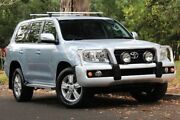 2014 Toyota Landcruiser VDJ200R MY13 Altitude Silver 6 Speed Sports Automatic Wagon Hawthorn Mitcham Area Preview