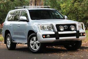 2014 Toyota Landcruiser VDJ200R MY13 Altitude Silver 6 Speed Sports Automatic Wagon