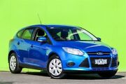 2013 Ford Focus LW MKII Ambiente PwrShift Blue 6 Speed Sports Automatic Dual Clutch Hatchback Ringwood East Maroondah Area Preview