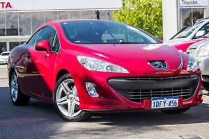 2009 Peugeot 308 T7 CC Red 4 Speed Sports Automatic Convertible