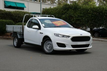 2016 Ford Falcon FG X Super Cab White 6 Speed Sports Automatic Cab Chassis Acacia Ridge Brisbane South West Preview