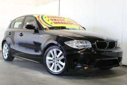 2005 BMW 120i E87 Black 6 Speed Manual Hatchback Underwood Logan Area Preview