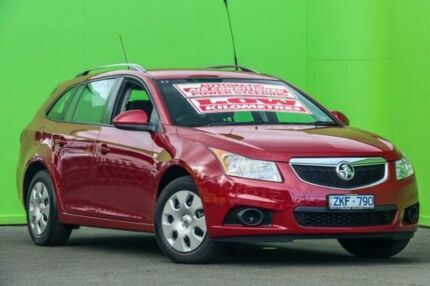 2012 Holden Cruze JH Series II MY13 CD Sportwagon Burgundy 6 Speed Sports Automatic Wagon Ringwood East Maroondah Area Preview
