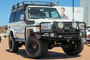 2012 Toyota Landcruiser VDJ76R MY13 GXL White 5 Speed Manual Wagon Westminster Stirling Area Preview