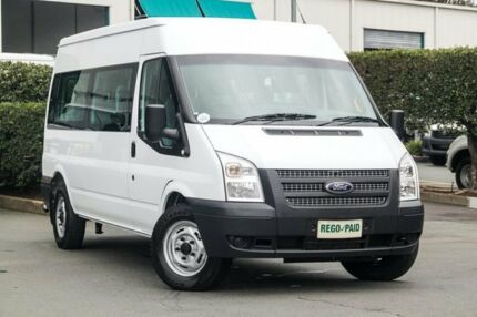 2012 Ford Transit VM Mid Roof White 6 Speed Manual Bus