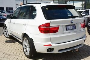2009 BMW X5 E70 MY09 xDrive35d Steptronic White 6 Speed Sports Automatic Wagon Victoria Park Victoria Park Area Preview
