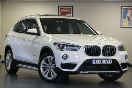 2015 BMW X1 F48 xDrive20d White Sports Automatic Wagon