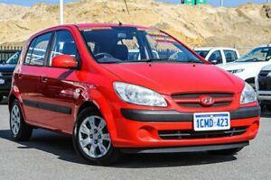 2007 Hyundai Getz TB Upgrade 1.6 Red 5 Speed Manual Hatchback Osborne Park Stirling Area Preview