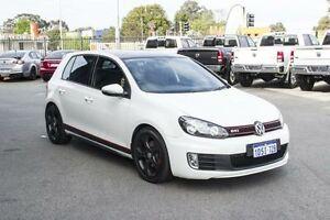 2011 Volkswagen Golf 1K MY11 GTi White 6 Speed Direct Shift Hatchback Beckenham Gosnells Area Preview
