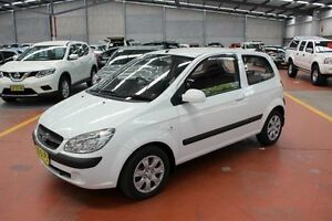 2010 Hyundai Getz TB MY09 S White 5 Speed Manual Hatchback Maryville Newcastle Area Preview