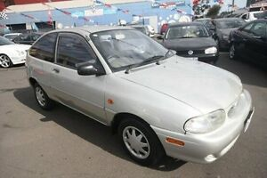 2000 Ford Festiva WF Trio Silver 3 Speed Automatic Hatchback Kingsville Maribyrnong Area Preview