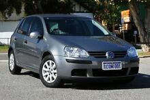 2007 Volkswagen Golf V MY07 Comfortline Tiptronic Silver 6 Speed Sports Automatic Hatchback Victoria Park Victoria Park Area Preview