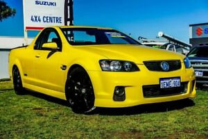 2012 Holden Ute VE II MY12 SS Yellow 6 Speed Manual Utility