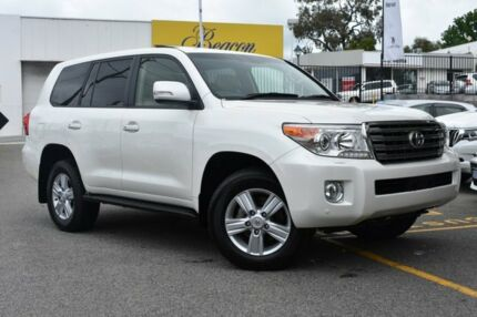 2014 Toyota Landcruiser VDJ200R MY13 VX Crystal Pearl 6 Speed Sports Automatic Wagon Claremont Nedlands Area Preview
