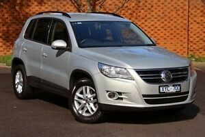 2010 Volkswagen Tiguan Silver Sports Automatic Dual Clutch Wagon Doncaster Manningham Area Preview