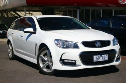 2016 Holden Commodore VF II MY16 SV6 Sportwagon White 6 Speed Sports Automatic Wagon