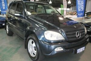 2002 Mercedes-Benz ML W163 320 (4x4) Blue 5 Speed Auto Tipshift Wagon