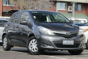 2013 Toyota Yaris NCP130R YR Graphite 5 Speed Manual Hatchback Christies Beach Morphett Vale Area Preview