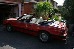 1986  3.8L  V6  Mustang Convertible with Matching numbers