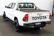 2015 Toyota Hilux GUN136R SR Double Cab 4x2 Hi-Rider Glacier White 6 Speed Manual Utility Myaree Melville Area Preview