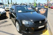 2006 Holden Commodore VE SV6 Black 5 Speed Automatic Sedan Minchinbury Blacktown Area Preview