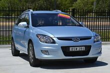 2010 Hyundai i30 FD MY11 SLX cw Wagon Blue 4 Speed Automatic Wagon Pearce Woden Valley Preview