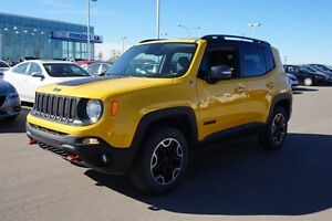 2015 Jeep Renegade 4WD TRAILHAWK Navigation (GPS),  Leather,  He