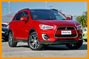 2015 Mitsubishi ASX XB MY15.5 XLS Red/Black 6 Speed Sports Automatic Wagon Hillcrest Logan Area Preview