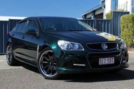 2014 Holden Commodore VF MY14 SV6 Green 6 Speed Sports Automatic Sedan Slacks Creek Logan Area Preview