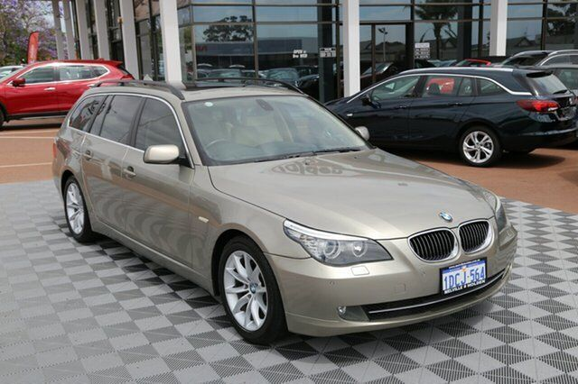 420fcc19e0 2008 BMW 530i E61 MY08 Touring Steptronic Champagne 6 Speed Sports  Automatic Wagon
