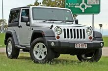 2010 Jeep Wrangler JK MY2010 Sport Silver 6 Speed Manual Softtop Springwood Logan Area Preview