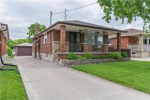 3 Specious BR Bungalow in Hamilton Mt Area(Upper Gage & 9th Ave)