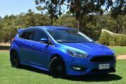 2016 Ford Focus LZ Sport Blue 6 Speed Manual Hatchback St Marys Mitcham Area Preview