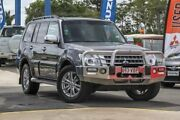 2014 Mitsubishi Pajero NX MY15 GLX Grey 5 Speed Sports Automatic Wagon Aspley Brisbane North East Preview
